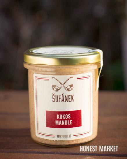 Kokosovo mandlové máslo 330g