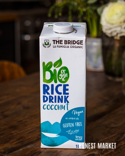 Rýžové mléko s kokosem BIO 1L