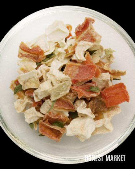 Polévka, směs sušené zeleniny 200 g