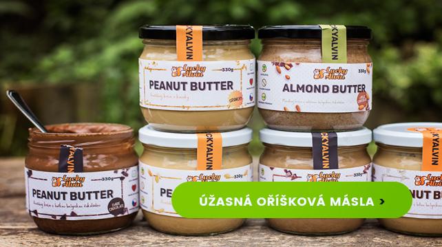 Dokonalá česká oříšková másla